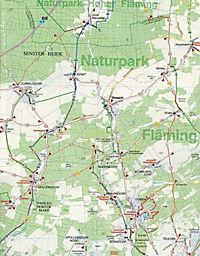 Doktor Barthel Karte Lutherstadt Wittenberg und Umgebung - Produktdetailbild 2