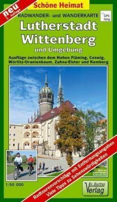 Doktor Barthel Karte Lutherstadt Wittenberg und Umgebung