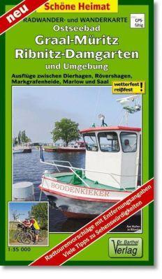 Doktor Barthel Karte Ostseebad Graal-Müritz, Ribnitz-Damgarten und Umgebung
