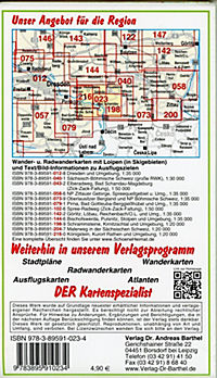 Doktor Barthel Karte Sächsisch-Böhmische Schweiz - Produktdetailbild 1
