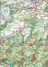 Doktor Barthel Karte Sächsisch-Böhmische Schweiz - Produktdetailbild 2