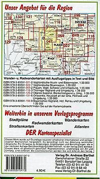 Doktor Barthel Karte Schleiz, Gefell, Burgsteingebiet und Umgebung - Produktdetailbild 1