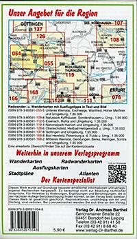 Doktor Barthel Karte Unteres Werratal, Hoher Meißner, Bad Sooden-Allendorf, Witzenhausen und Umgebung - Produktdetailbild 1