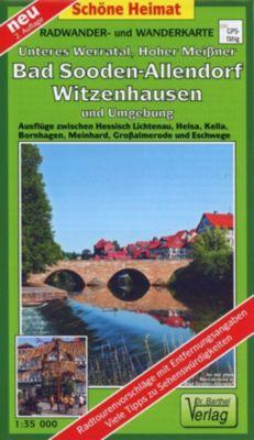 Doktor Barthel Karte Unteres Werratal, Hoher Meißner, Bad Sooden-Allendorf, Witzenhausen und Umgebung