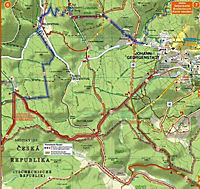 Doktor Barthel Karte Wander-, Ski- und Radwanderkarte Kammweg Erzgebirge-Vogtland - Produktdetailbild 1