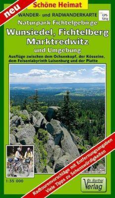 Doktor Barthel Karte Wander- und Radwanderkarte Naturpark Fichtelgebirge, Wunsiedel, Fichtelberg, Marktredwitz und Umgeb - Verlag Dr. Barthel pdf epub