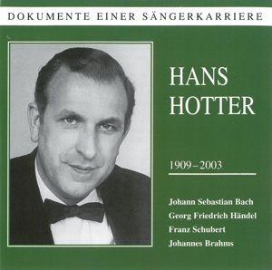 Dokumente einer Sängerkarriere, Hans Hotter