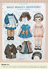 Dolly Dingle Kalender - Anziehpuppen von Grace G. Drayton (Tischkalender 2019 DIN A5 hoch) - Produktdetailbild 2
