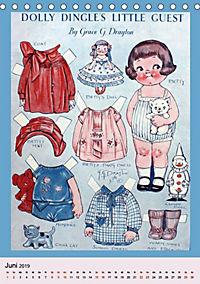 Dolly Dingle Kalender - Anziehpuppen von Grace G. Drayton (Tischkalender 2019 DIN A5 hoch) - Produktdetailbild 3