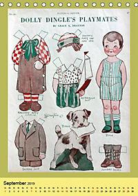 Dolly Dingle Kalender - Anziehpuppen von Grace G. Drayton (Tischkalender 2019 DIN A5 hoch) - Produktdetailbild 5
