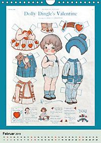 Dolly Dingle Kalender - Anziehpuppen von Grace G. Drayton (Wandkalender 2019 DIN A4 hoch) - Produktdetailbild 2