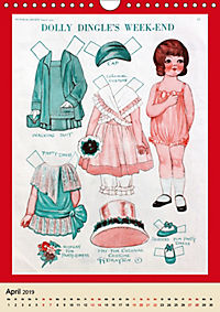 Dolly Dingle Kalender - Anziehpuppen von Grace G. Drayton (Wandkalender 2019 DIN A4 hoch) - Produktdetailbild 4