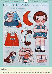Dolly Dingle Kalender - Anziehpuppen von Grace G. Drayton (Wandkalender 2019 DIN A4 hoch) - Produktdetailbild 7