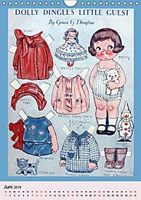 Dolly Dingle Kalender - Anziehpuppen von Grace G. Drayton (Wandkalender 2019 DIN A4 hoch) - Produktdetailbild 6