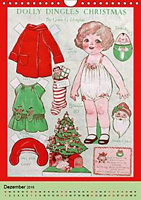 Dolly Dingle Kalender - Anziehpuppen von Grace G. Drayton (Wandkalender 2019 DIN A4 hoch) - Produktdetailbild 12