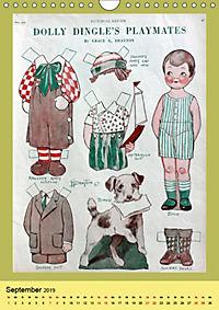 Dolly Dingle Kalender - Anziehpuppen von Grace G. Drayton (Wandkalender 2019 DIN A4 hoch) - Produktdetailbild 9