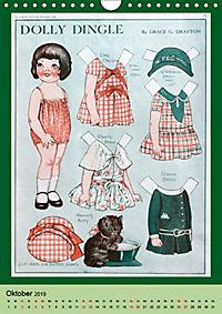 Dolly Dingle Kalender - Anziehpuppen von Grace G. Drayton (Wandkalender 2019 DIN A4 hoch) - Produktdetailbild 10