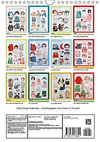 Dolly Dingle Kalender - Anziehpuppen von Grace G. Drayton (Wandkalender 2019 DIN A4 hoch) - Produktdetailbild 13
