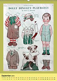 Dolly Dingle Kalender - Anziehpuppen von Grace G. Drayton (Wandkalender 2019 DIN A2 hoch) - Produktdetailbild 9