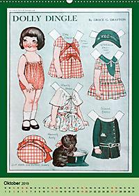 Dolly Dingle Kalender - Anziehpuppen von Grace G. Drayton (Wandkalender 2019 DIN A2 hoch) - Produktdetailbild 10