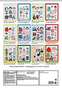 Dolly Dingle Kalender - Anziehpuppen von Grace G. Drayton (Wandkalender 2019 DIN A2 hoch) - Produktdetailbild 13