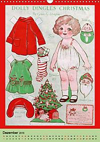 Dolly Dingle Kalender - Anziehpuppen von Grace G. Drayton (Wandkalender 2019 DIN A3 hoch) - Produktdetailbild 12