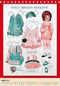 Dolly Dingle Kalender - Anziehpuppen von Grace G. Drayton (Tischkalender 2019 DIN A5 hoch) - Produktdetailbild 4