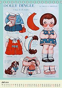 Dolly Dingle Kalender - Anziehpuppen von Grace G. Drayton (Tischkalender 2019 DIN A5 hoch) - Produktdetailbild 7