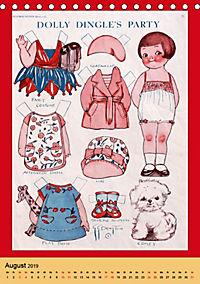 Dolly Dingle Kalender - Anziehpuppen von Grace G. Drayton (Tischkalender 2019 DIN A5 hoch) - Produktdetailbild 8