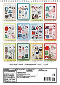 Dolly Dingle Kalender - Anziehpuppen von Grace G. Drayton (Wandkalender 2019 DIN A3 hoch) - Produktdetailbild 13