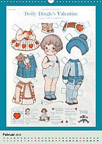 Dolly Dingle Kalender - Anziehpuppen von Grace G. Drayton (Wandkalender 2019 DIN A3 hoch) - Produktdetailbild 2