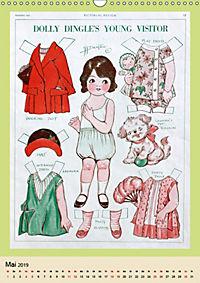 Dolly Dingle Kalender - Anziehpuppen von Grace G. Drayton (Wandkalender 2019 DIN A3 hoch) - Produktdetailbild 5
