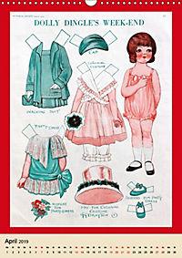 Dolly Dingle Kalender - Anziehpuppen von Grace G. Drayton (Wandkalender 2019 DIN A3 hoch) - Produktdetailbild 4