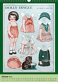 Dolly Dingle Kalender - Anziehpuppen von Grace G. Drayton (Wandkalender 2019 DIN A3 hoch) - Produktdetailbild 10