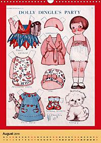Dolly Dingle Kalender - Anziehpuppen von Grace G. Drayton (Wandkalender 2019 DIN A3 hoch) - Produktdetailbild 8