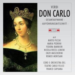 Don Carlo, Coro E Orch.Del Teatro Carlo Felice Die Genova