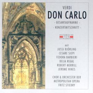 Don Carlo, Chor U.Orch.D.Metropol.Opera
