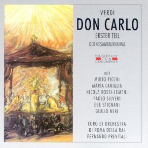 Don Carlo Erster Teil, Coro E.Orch.Di Roma Della Rai