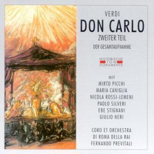 Don Carlo Zweiter Teil, Coro & Orch.Di Roma Della Rai