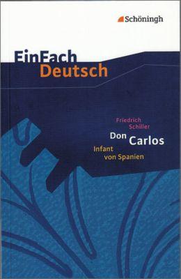 Don Carlos, Infant von Spanien, Friedrich von Schiller