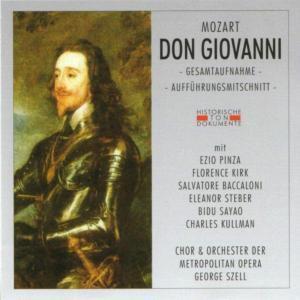 Don Giovanni (Ga), Chor & Orch.Der Metropolitan Opera