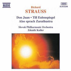 Don Juan/Till Eulenspiegel/+, Kosler, Slowak.Philh.Orch.