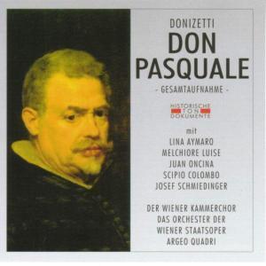 Don Pasquale, Wiener Kammerchor, Orch.D.Wiene