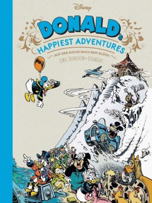 Donald's Happiest Adventures, Walt Disney, Lewis Trondheim, Nicolas Keramidas