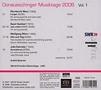Donaueschinger Musiktage 2006 Vol. 1 (SACD) - Produktdetailbild 1