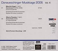 Donaueschinger Musiktage 2006 Vol. 4 (SACD) - Produktdetailbild 1