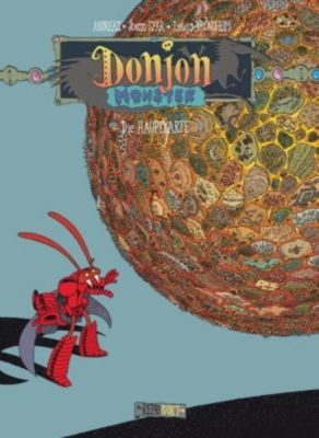 Donjon Monster - Die Hauptkarte, Lewis Trondheim, Joann Sfar