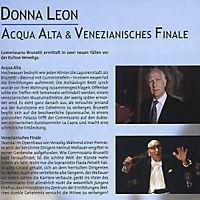 Donna Leon - Acqua Alta / Venezianisches Finale - Produktdetailbild 1