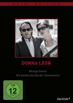 Donna Leon: Blutige Steine / Die dunkle Stunde der Serenissima, Donna Leon