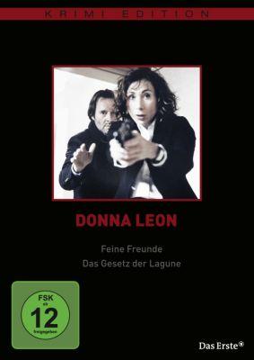 Donna Leon: Feine Freunde / Das Gesetz der Lagune, Donna Leon